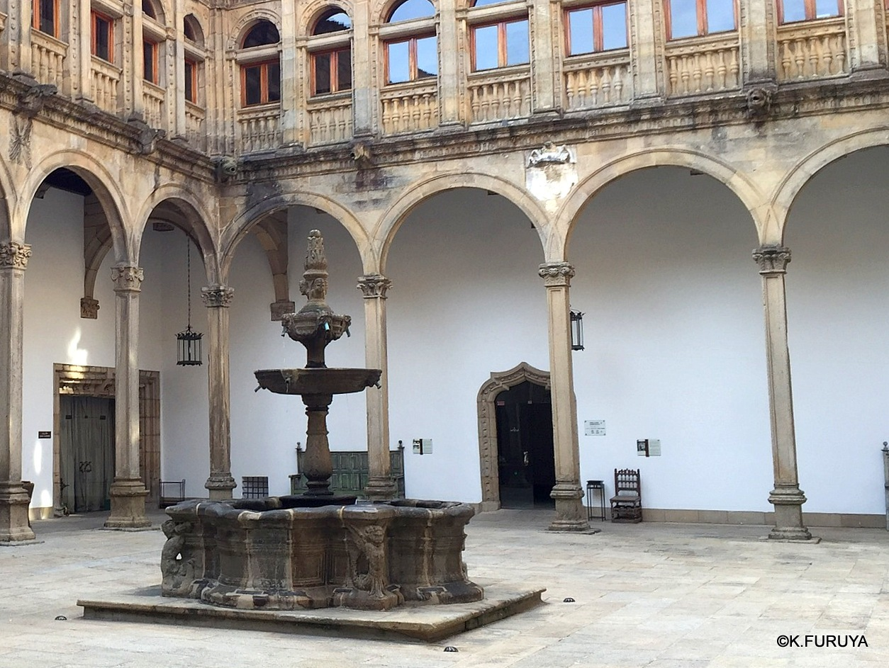 パラドール・デ・サンティアゴ・デ・コンポステーラ_a0092659_22262747.jpg