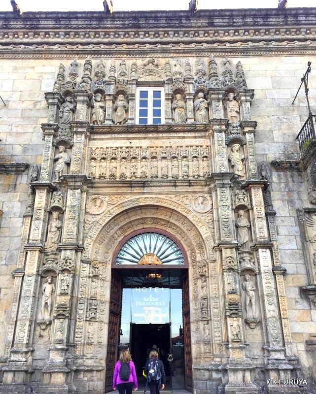 パラドール・デ・サンティアゴ・デ・コンポステーラ_a0092659_22315869.jpg