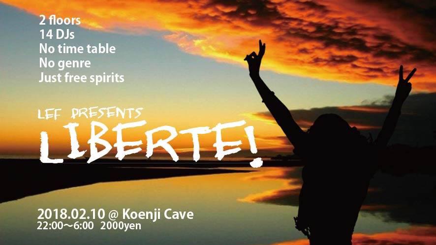 2.10(sat) LEF presents Liberte!@Koenji Cave_c0311698_14214936.jpg