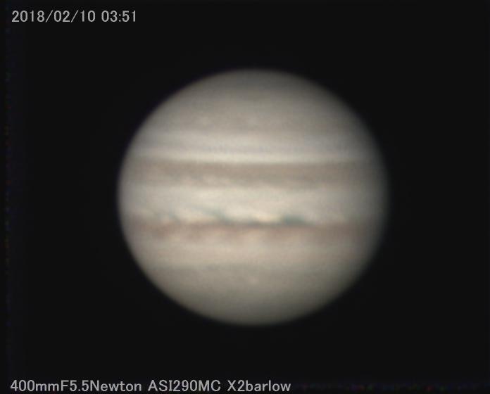 約1か月ぶりの木星_a0095470_16380300.jpg