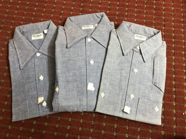 アメリカ仕入れ情報#13 80s OSHKOSH all cotton 半袖シャンブレーシャツ!!_c0144020_11555004.jpg