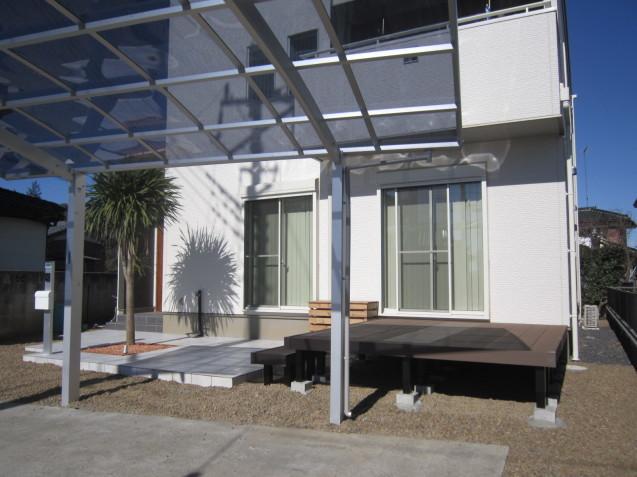 群馬県太田市 でのエクステリア工事 N 邸 完成しました ( *´艸`)_e0361918_15112306.jpg