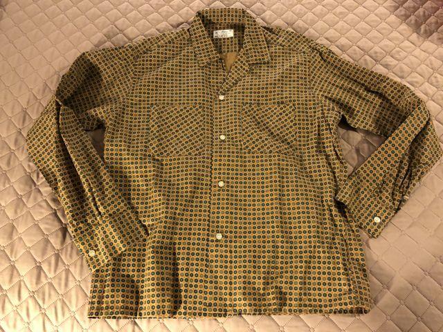 アメリカ仕入れ情報#16 60s デッドストック 小紋シャツ!_c0144020_12005089.jpg