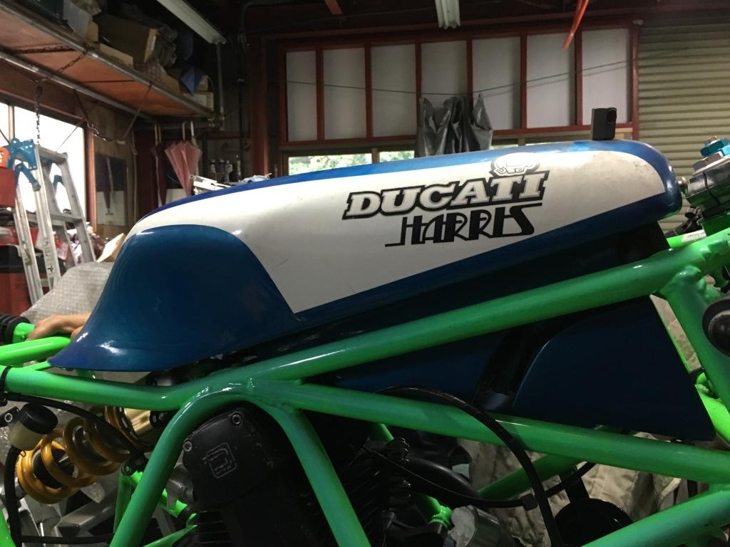 ducati TT1への道14 1型タンクがTT1ロングタンクに!「製作工程」_a0051924_19051125.jpg