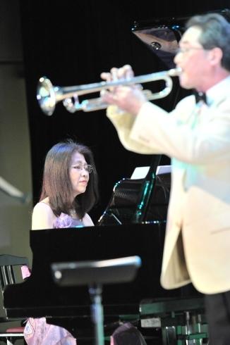 東日本大震災復興支援対応「トランペットとピアノのデュオコンサート」_a0310968_18084158.jpg