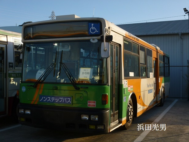 ○とさでん交通に東京都交通局のバス_f0111289_00131819.jpg