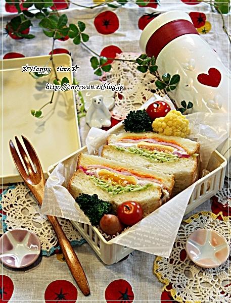 山食で目玉焼きサンド弁当と今夜はスキレットでおうちごはん♪_f0348032_17495044.jpg