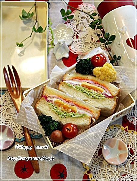 山食で目玉焼きサンド弁当と今夜はスキレットでおうちごはん♪_f0348032_17500293.jpg