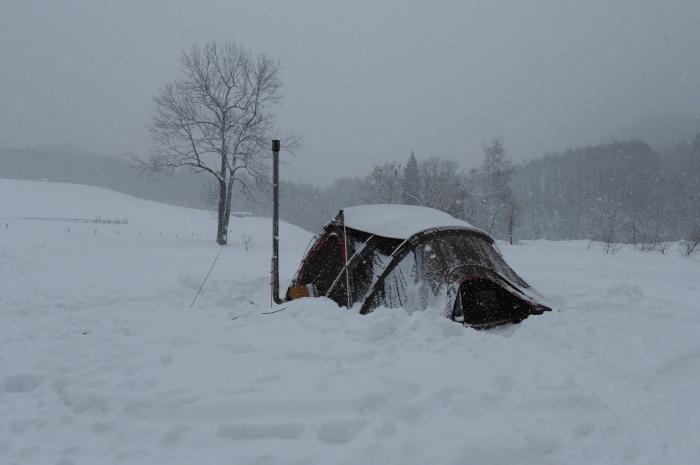 一色の森 雪中キャンプ 2_a0049296_20264223.jpg