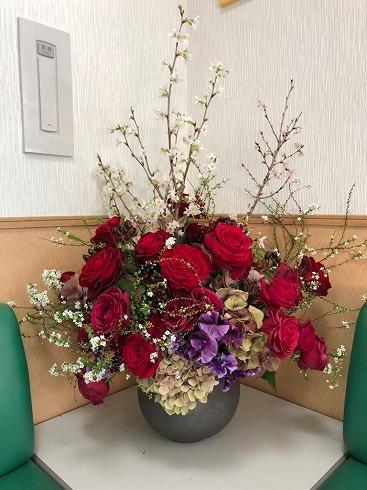 バレンタインデーの素敵な花束_a0152501_08525036.jpg
