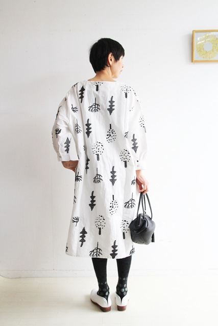 FOREST EMBROIDERY BIG TUNIK_f0215708_10320364.jpg