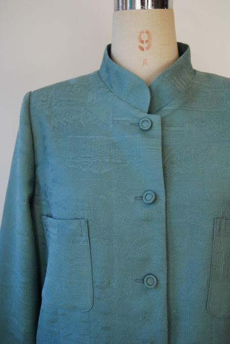 着物リメイク・着物からスタンドカラージャケット_d0127925_15383380.jpg