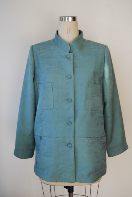 着物リメイク・着物からスタンドカラージャケット_d0127925_15384739.jpg
