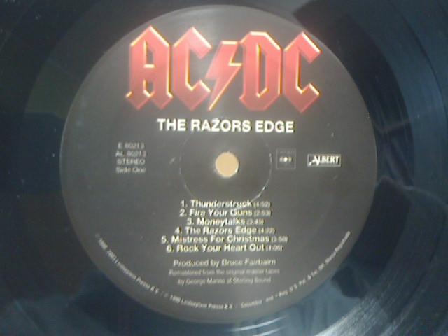 The Razors Edge / AC/DC_c0104445_23452176.jpg
