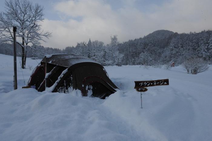 一色の森 雪中チャンプ 3_a0049296_19400398.jpg