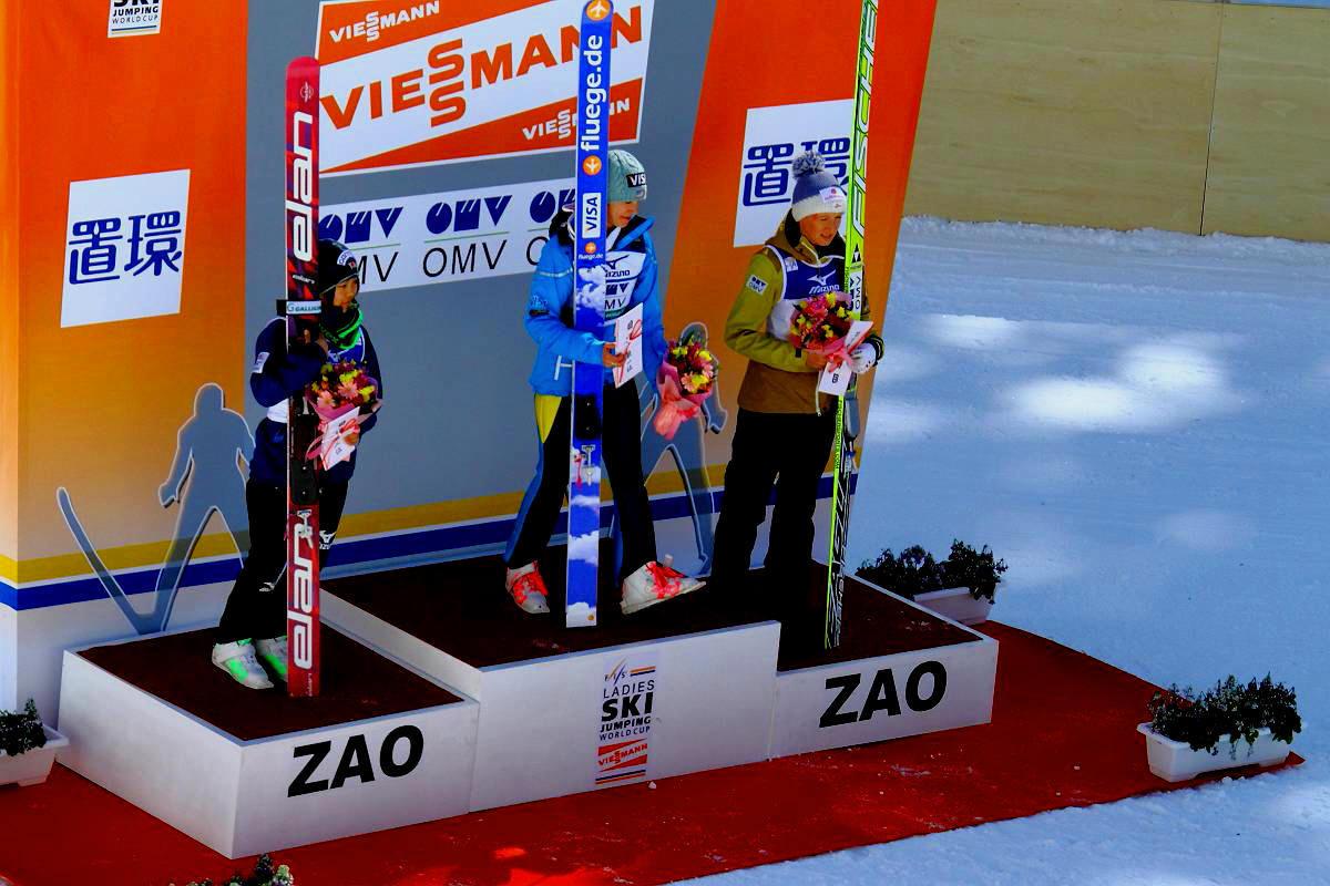 ピョンチャンオリンピック 女子スキージャンプ「高梨沙羅さん」銅メダル受賞おめでとうございます。_d0106628_11413498.jpg