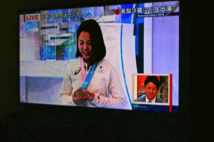ピョンチャンオリンピック 女子スキージャンプ「高梨沙羅さん」銅メダル受賞おめでとうございます。_d0106628_11423623.jpg