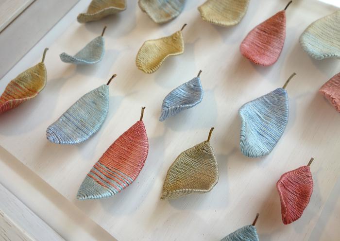 """【小林泰子作品展〜はるいろ】1枚1枚の葉にそれぞれの""""春""""を込めて_a0017350_04311272.jpg"""