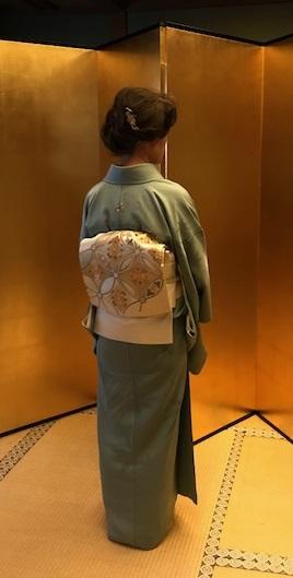 新年会・色無地にかざり錦の帯・商品紹介・ガマグチバッグ_f0181251_16212225.jpg