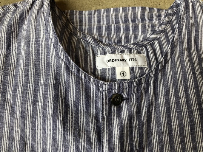 ORDINARY FITS Pajama Shirts  stripe_d0334060_14304852.jpg