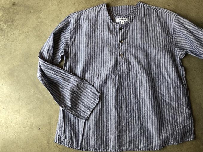 ORDINARY FITS Pajama Shirts  stripe_d0334060_14305030.jpg