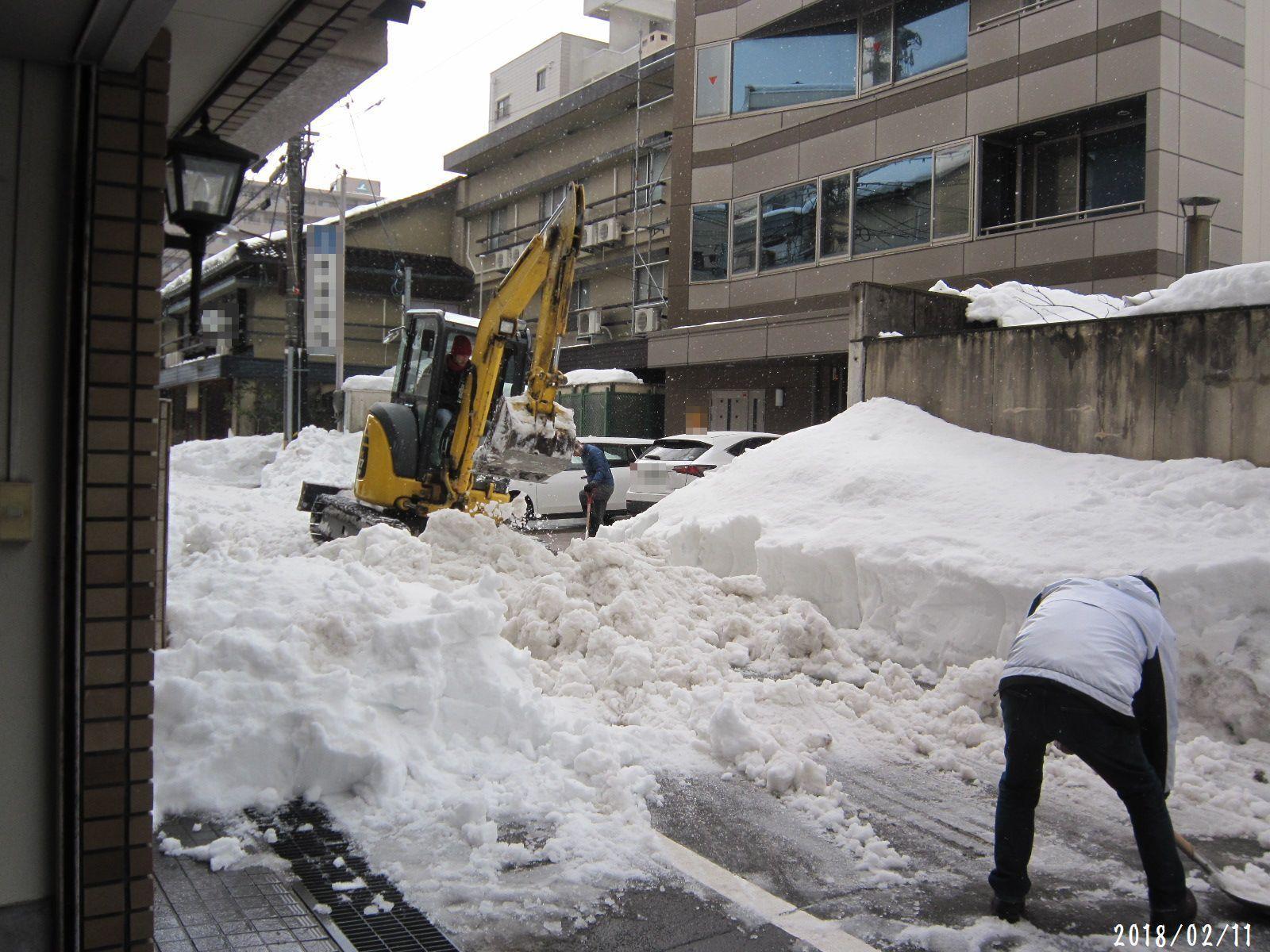 町内道路もすっきり☆ 春一番 も吹きました❀(2月20日追記あり)_a0207574_20560201.jpg