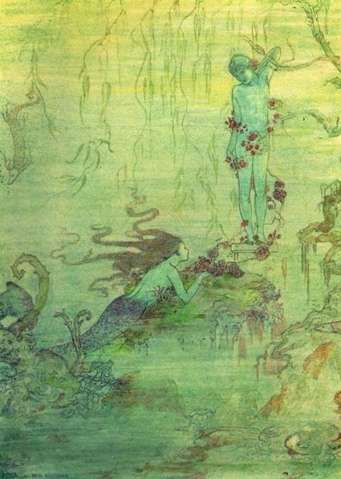 Ben Kutchert画の人魚姫_c0084183_1013751.jpg