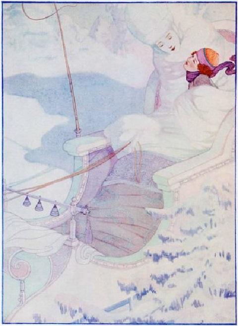 Ben Kutchert画の人魚姫_c0084183_1032505.jpg