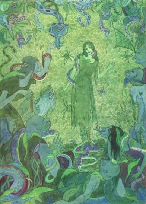 Ben Kutchert画の人魚姫_c0084183_10424737.jpg