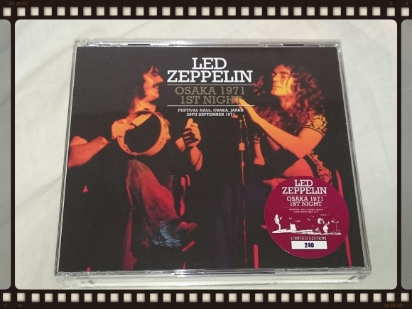 Led Zeppelin Osaka 1971