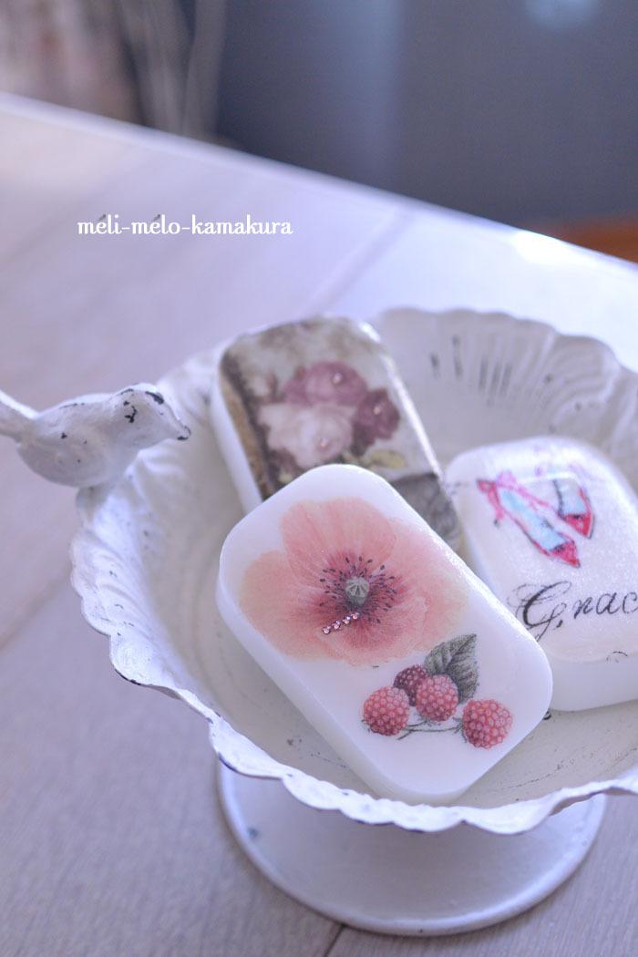 ◆【レッスンレポート】カラフルな鳥さんコロコロと大人可愛い石鹸たち♡_f0251032_18515625.jpg