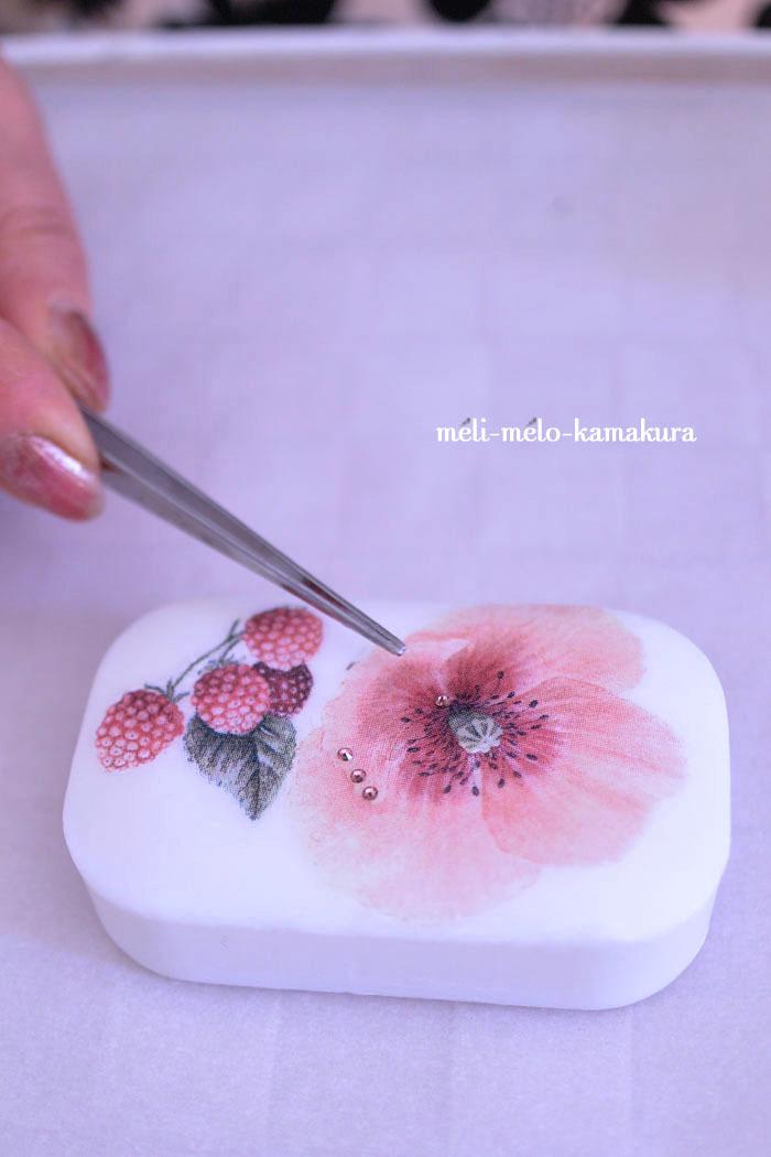 ◆【レッスンレポート】カラフルな鳥さんコロコロと大人可愛い石鹸たち♡_f0251032_18521880.jpg