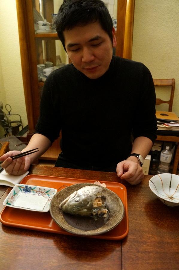 大晦日(旧暦)の晩餐_c0180686_21430908.jpg