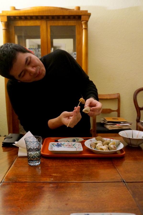大晦日(旧暦)の晩餐_c0180686_22462967.jpg