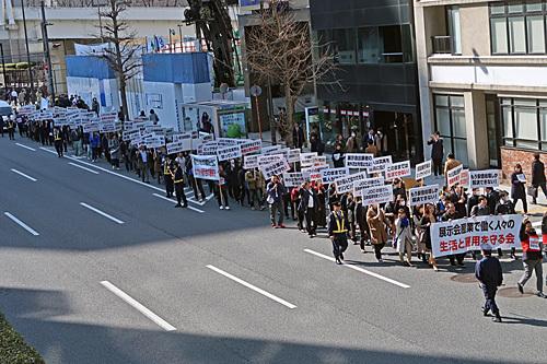 東京ビッグサイト問題抗議デモ ガンダムスタンプラリー_a0188487_10370925.jpg