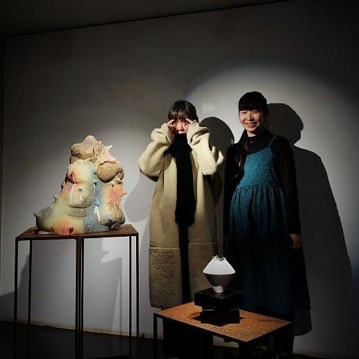 篠﨑裕美子×阿波夏紀 二人展 『点と線が生む景色』_b0232919_16064315.jpg