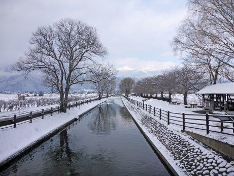 拾ヶ堰の雪景色_c0094442_08450871.jpg