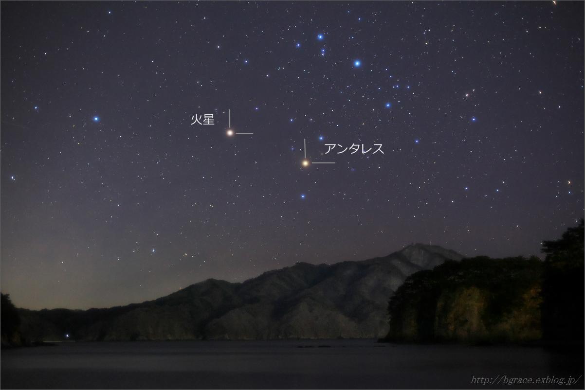 火星とアンタレス 天秤に掛けてみた_b0191074_19580741.jpg