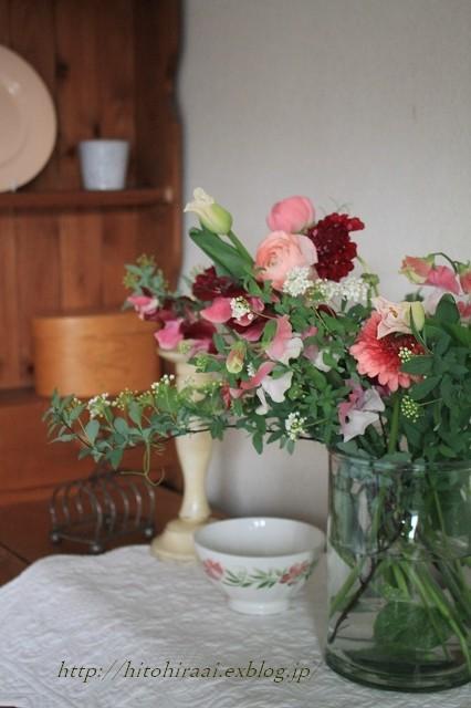 春を感じる花生け_f0374092_21513463.jpg