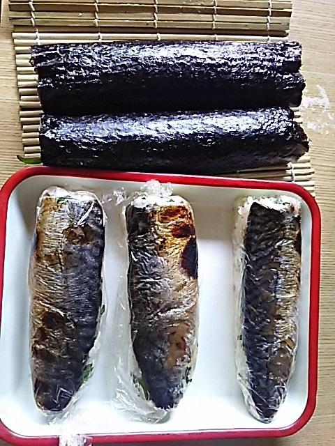 鯖寿司と、お酢コレクション_f0316507_17541290.jpg