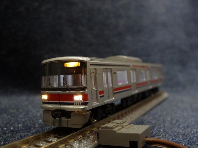 東急3000系鉄コレに明かりを_a0359818_17474009.jpg