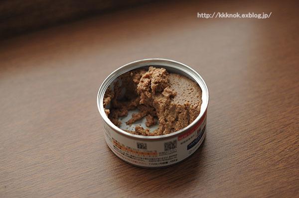 ヒルズのk/d(腎臓ケア)の缶詰を食べさせました(ヒルズk/dの感想)2月17・18日(日)_b0162726_08330602.jpg