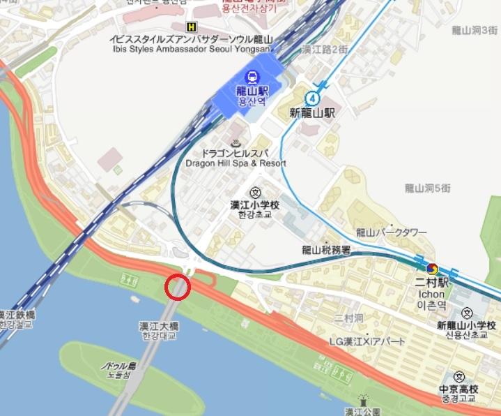 トゥー・カップス巡り⑯ 漢江大橋_f0378683_22190456.jpg