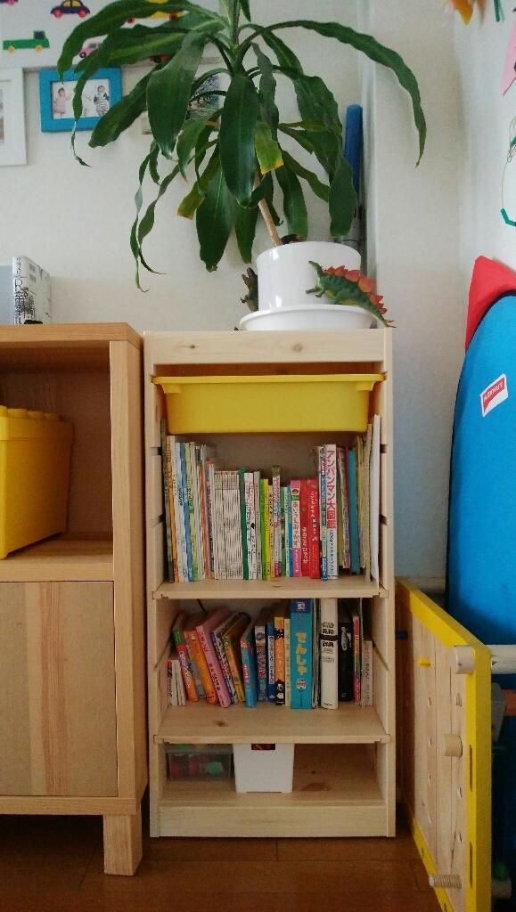 幼児の本棚の整理 _a0188798_16174596.jpg
