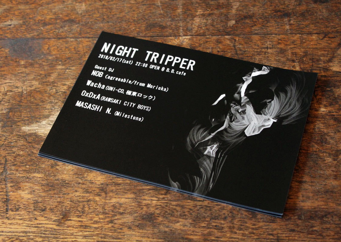 NIGHT TRIPPER / B.B.cafe_c0222907_09012048.jpg