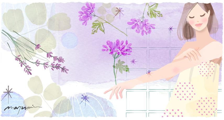 肌を癒すアロマ DHC olivechannel_f0172313_02263335.jpg