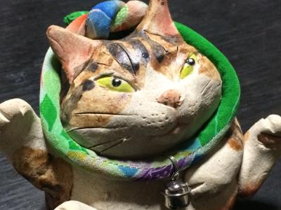 ギャラリーくわみつの猫展2018_d0214221_11444789.jpg