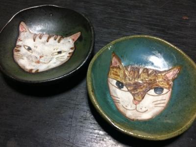ギャラリーくわみつの猫展2018_d0214221_21482662.jpg