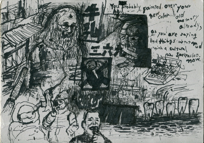grunge-drawings and rough painting_b0136144_03113627.jpg