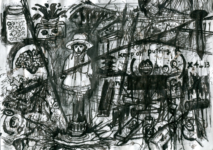 grunge-drawings and rough painting_b0136144_03115964.jpg